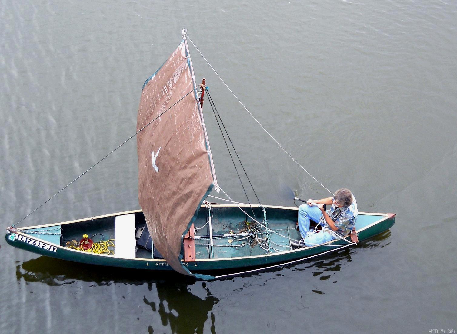 Lucas: Free access Build a sailing canoe