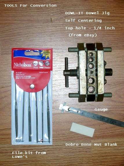 Tools for Conversion, including dowel jig